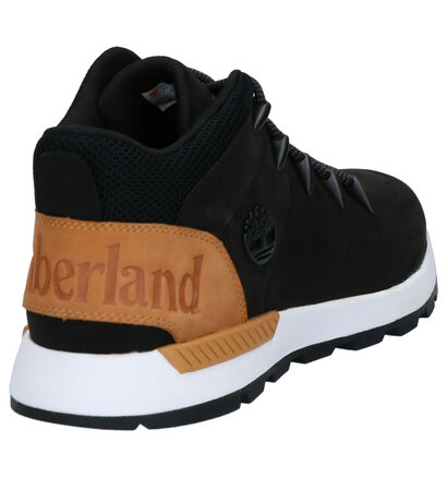 Timberland Sprint Trekker Mid Kaki Boots in nubuck (265027)
