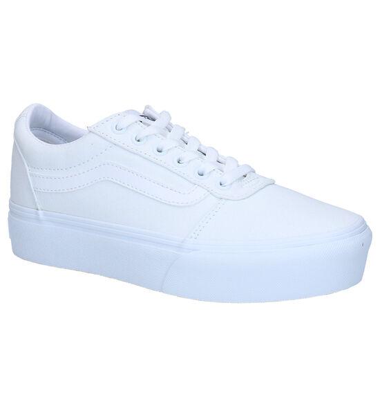 Vans Ward Platform Witte Sneakers
