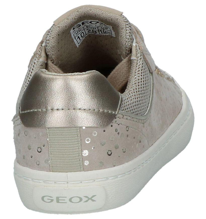 Beige Veterschoenen Geox in leer (237980)
