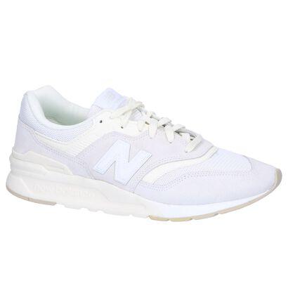 New Balance CM 997 Blauwe Sneakers in kunstleer (253406)