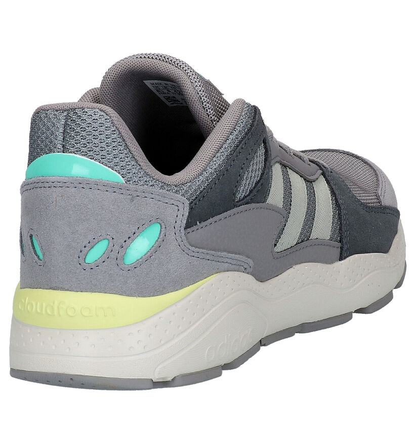 adidas Crazychaos Grijze Sneakers in stof (264648)