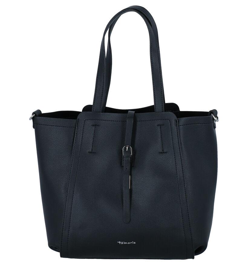 Tamaris Bruna Zwarte Bag in Bag Handtas in kunstleer (280625)