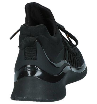 Tamaris Fashletics Zwarte Sneakers in stof (229852)