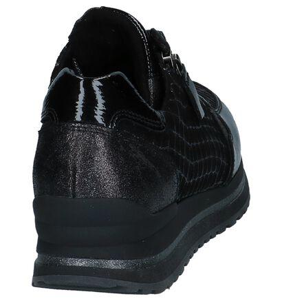 Gabor OptiFit Zwarte Veterschoenen , Zwart, pdp