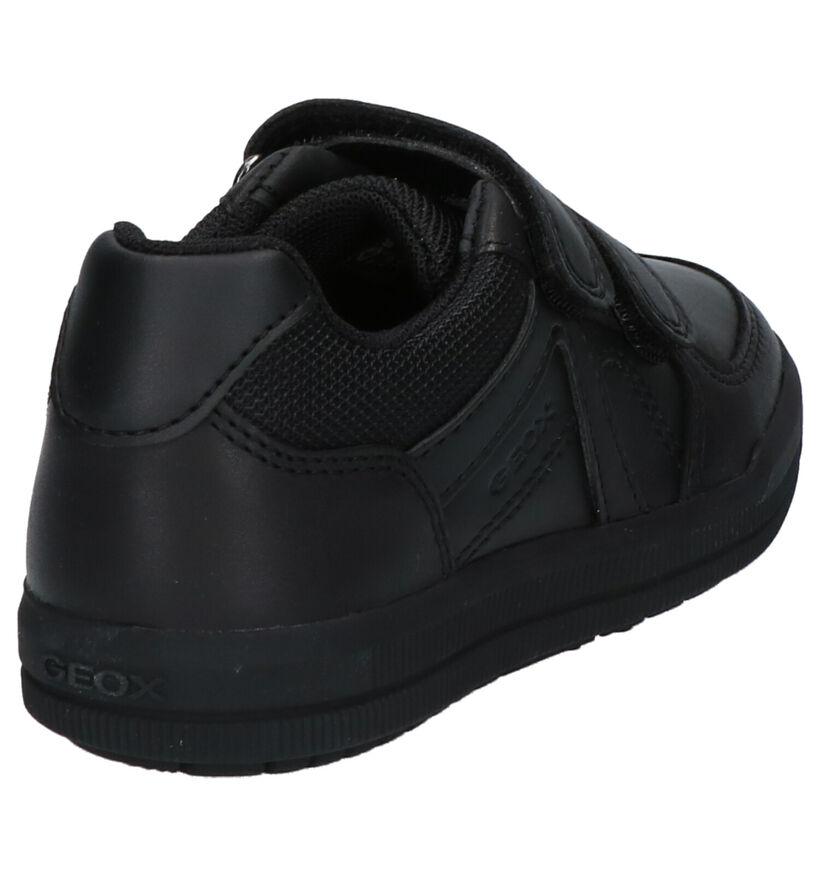 Geox Chaussures basses en Noir en simili cuir (223187)