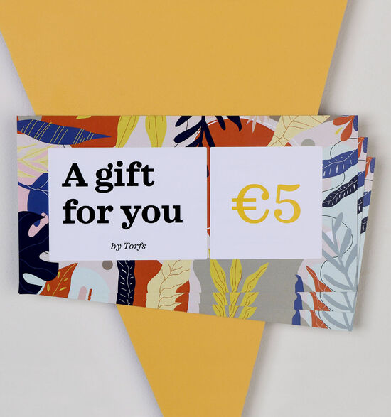 Carte cadeau de 5 euros