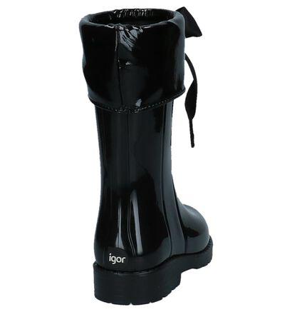 Zwarte Regenlaarzen Igor in lakleer (227109)
