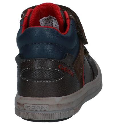 Geox Chaussures hautes en Brun foncé en simili cuir (223169)