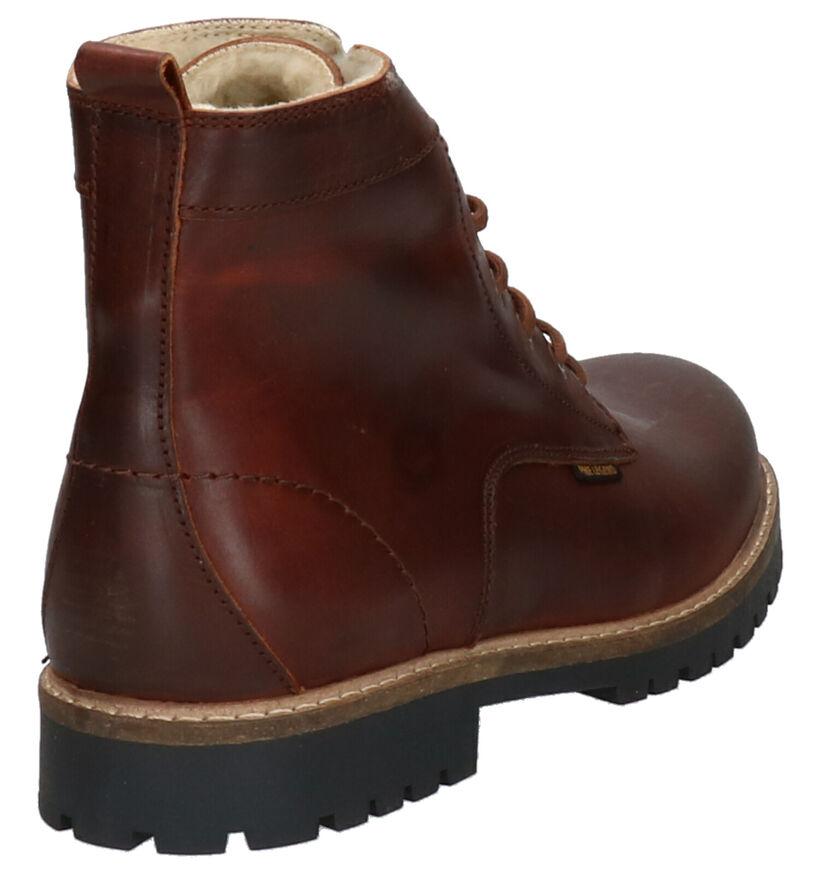 PME Solar Cognac Boots in leer (254771)
