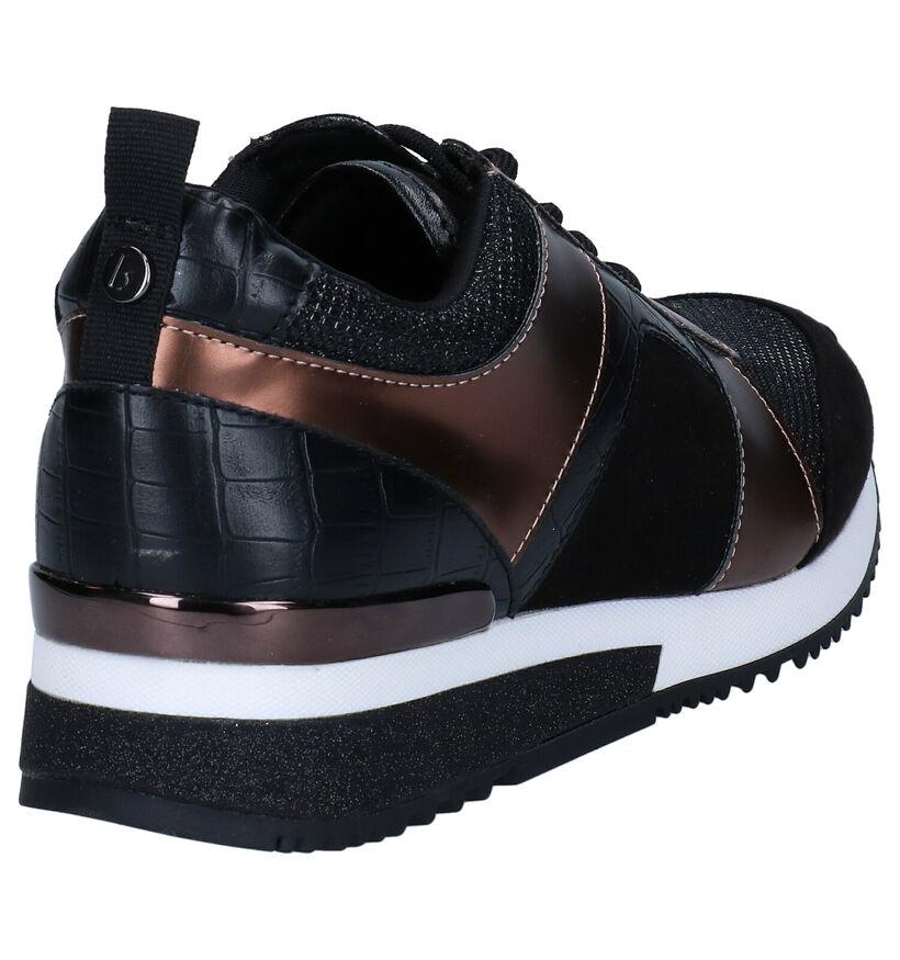 La Strada Zwarte Sneakers in kunstleer (278702)
