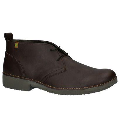 El Naturalista Chaussures hautes en Brun foncé en simili cuir (226188)