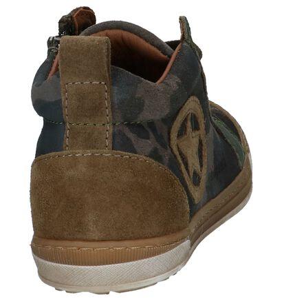 Bisgaard Chaussures hautes en Vert foncé en cuir (235997)