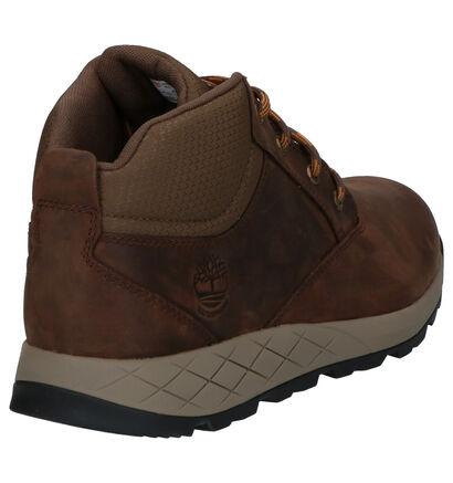 Timberland Tuckerman Mid Bruine Boots in leer (255366)