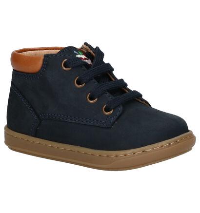 Shoo Pom Bouba Zip Desert Chaussures hautes en Jaune en nubuck (255220)