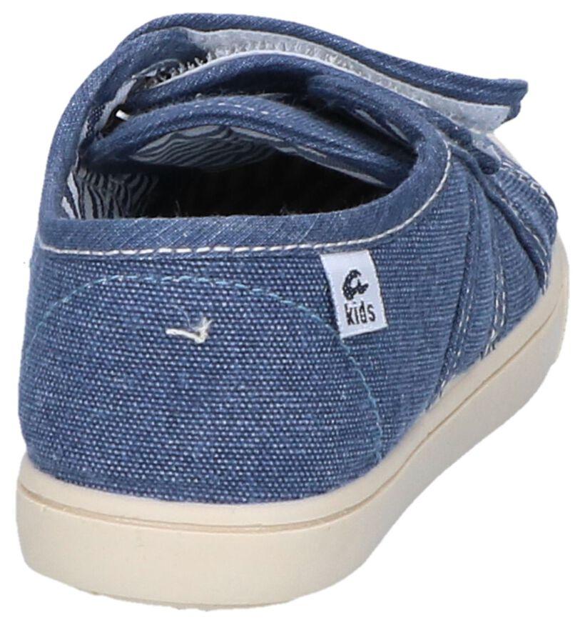 Ani Chaussures basses en Bleu foncé en textile (253294)