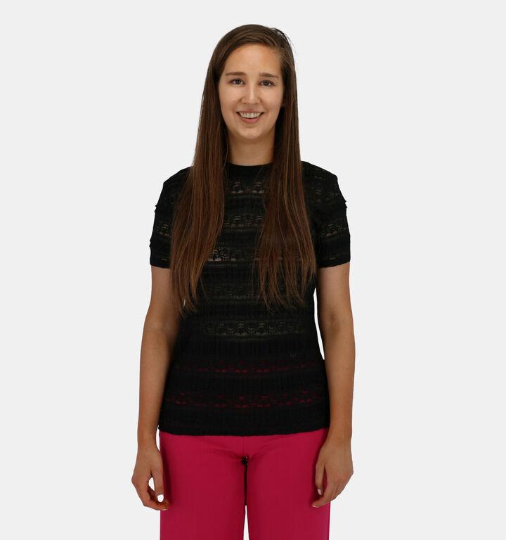Lofty Manner T-shirt Manches Courtes en Noir