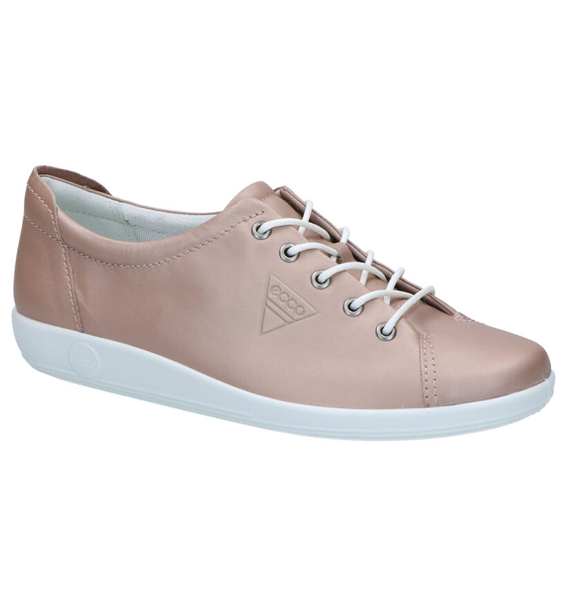 ECCO Chaussures à lacets en Bronze en cuir (269709)