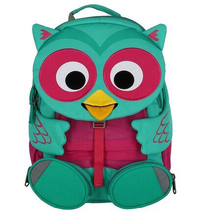 Groene Kinderrugzak Affenzahn Olina Owl in stof (251772)