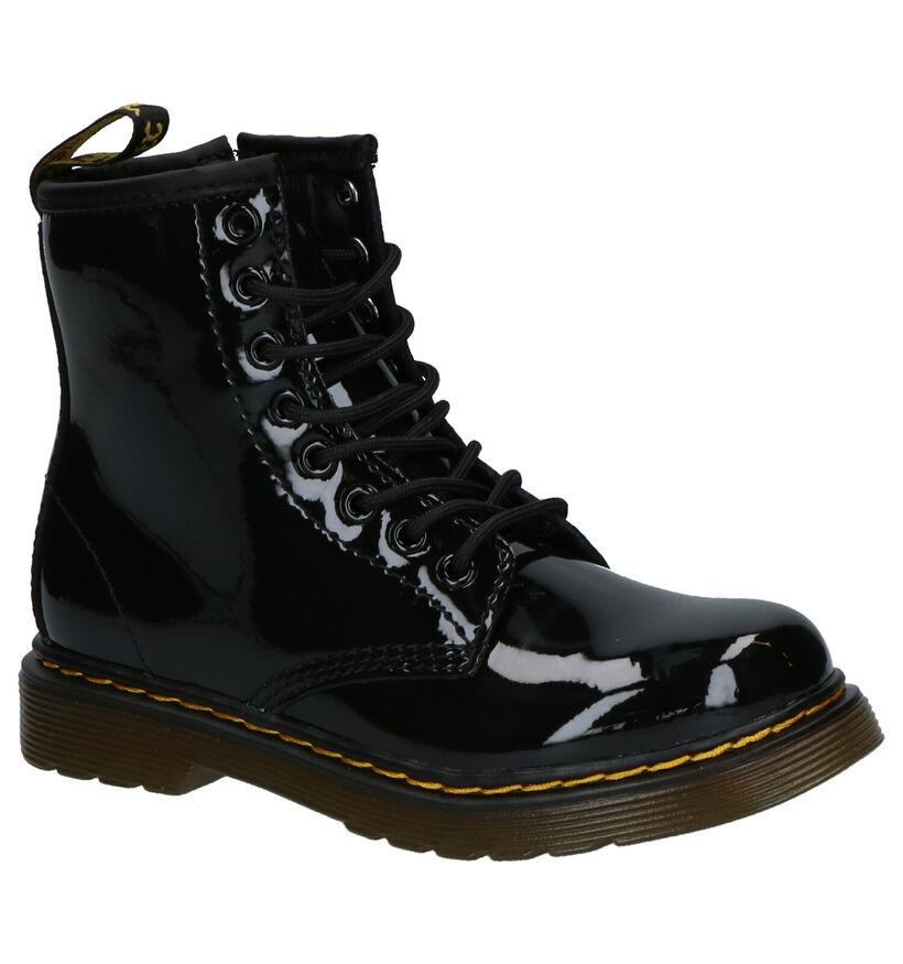 Dr. Martens 1460 Zwarte Boots in kunstleer (276479)