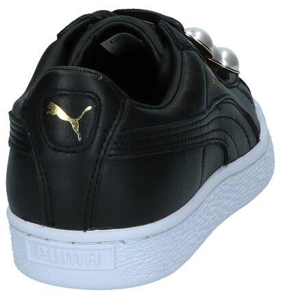 Puma Baskets basses en Blanc en cuir (221661)