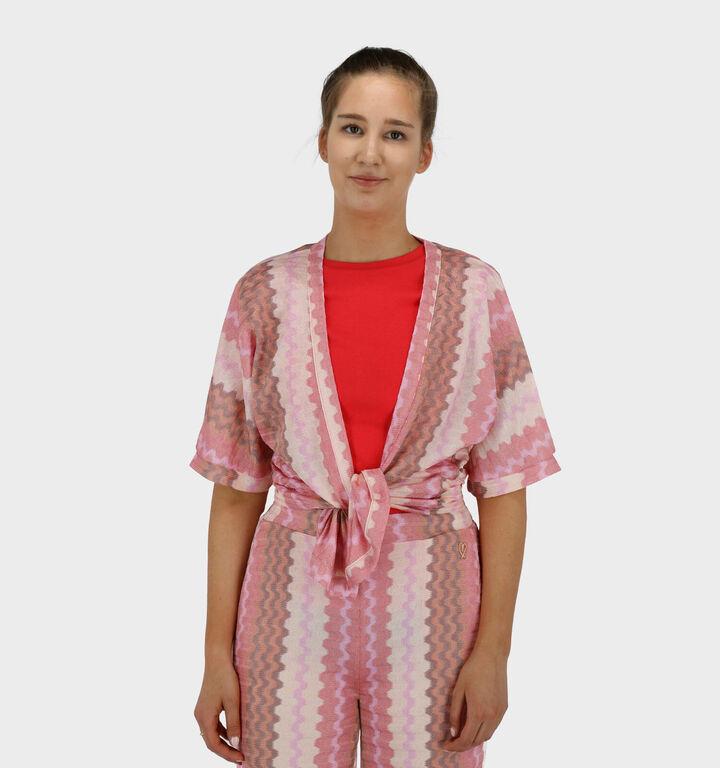 Miracles Jacket Kimono en Rose