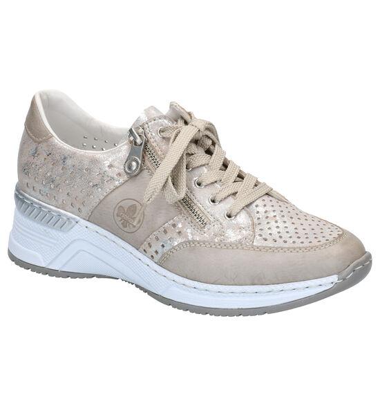 Rieker Chaussures à lacets (Beige)