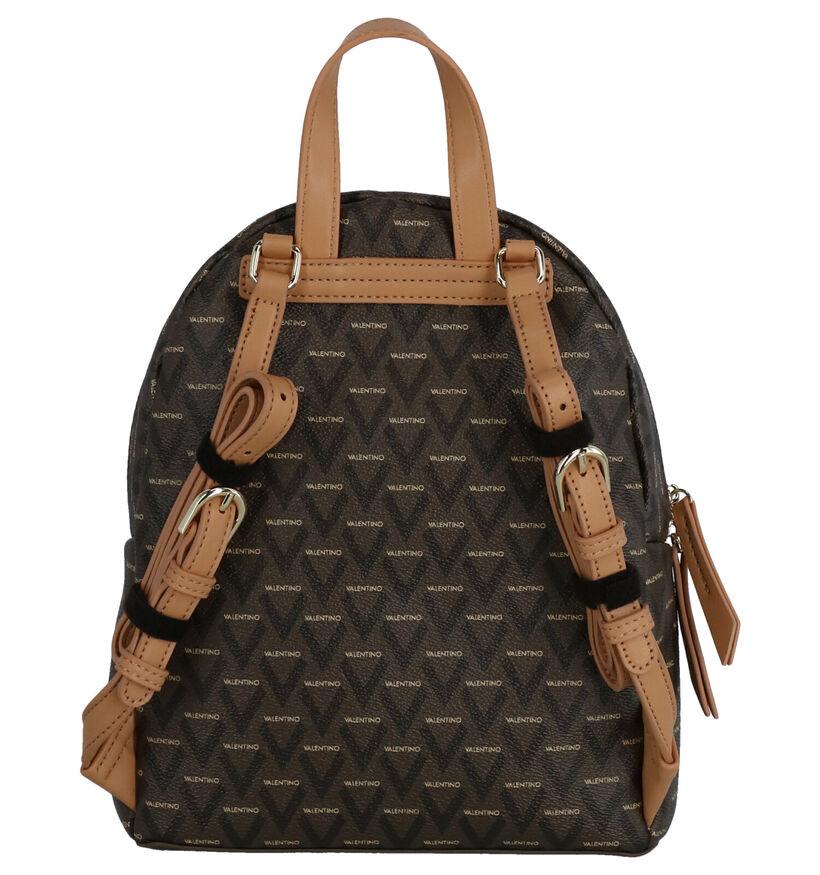 Valentino Handbags Liuto Sac à dos en Brun en simili cuir (259222)