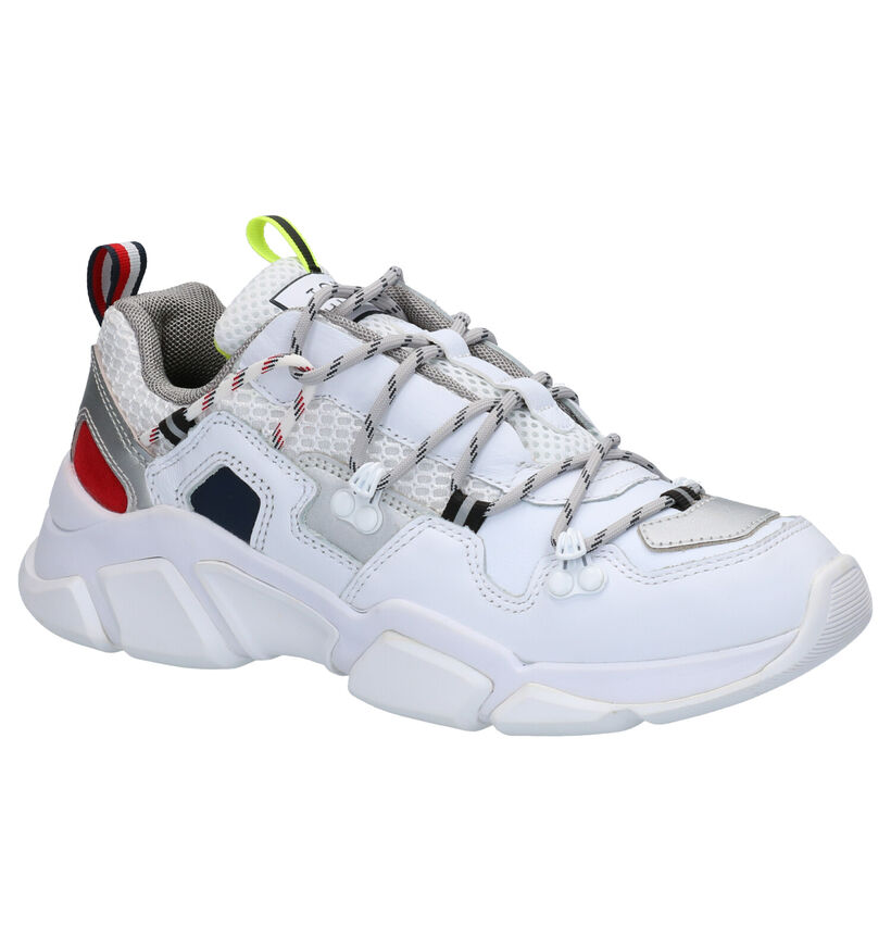 Tommy Hilfiger City Voyager Witte Sneakers in kunststof (264950)