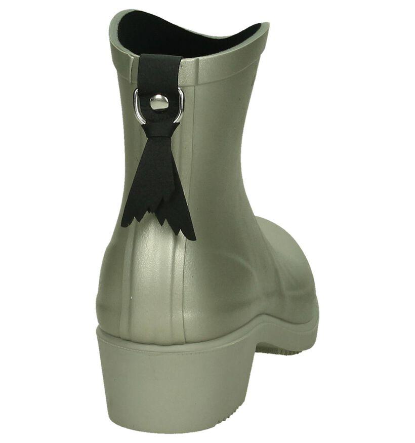 Aigle Miss Julliette Zilveren Regenlaarzen in rubber (197645)