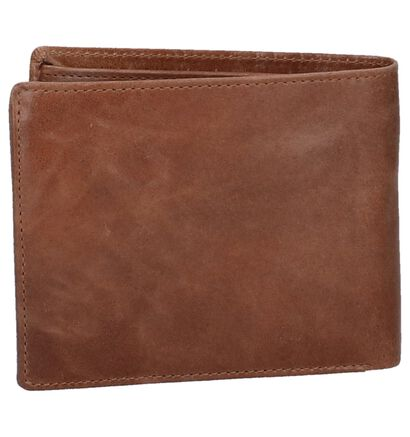 Zwarte Portefeuille Euro-Leather in leer (262485)
