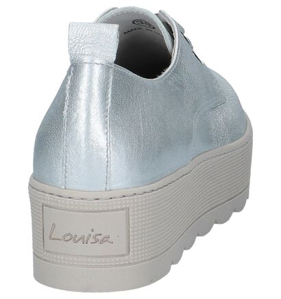 Louisa Chaussures à lacets  (Or), Argent, pdp