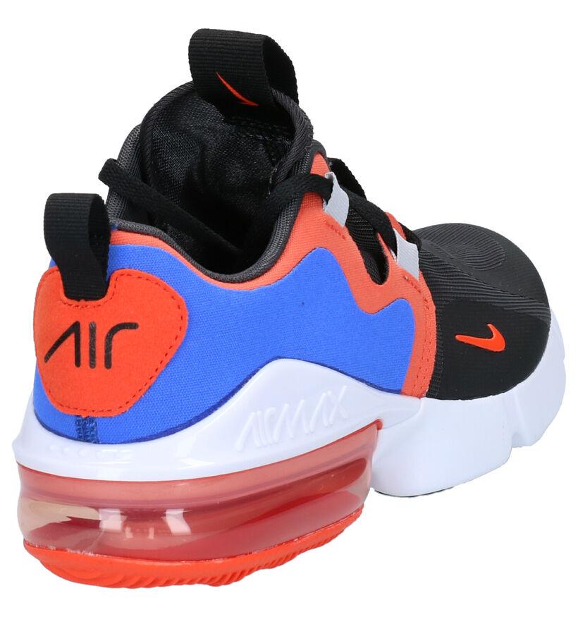 Nike Air Max Infinity Baskets en Bleu/Noir en textile (261674)