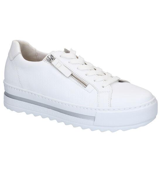 Gabor Comfort Chaussures basses en Blanc