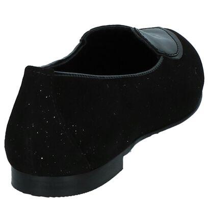 Love Zwarte Loafers met Hartje in lakleer (231314)