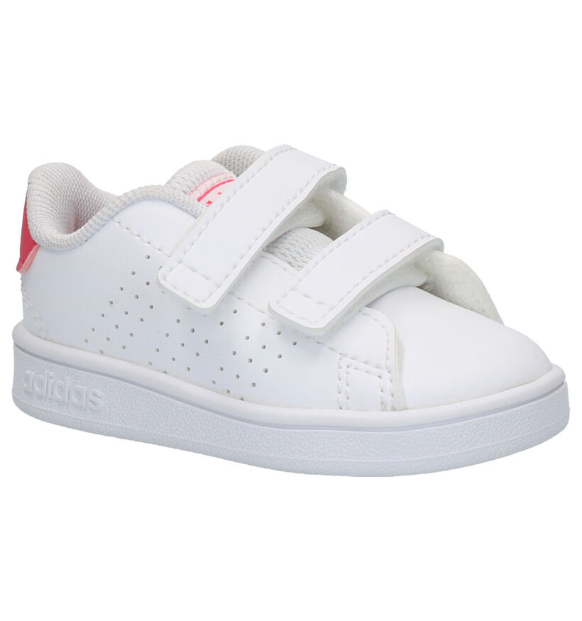 adidas Advantage I Witte Sneakers in kunstleer (252509)
