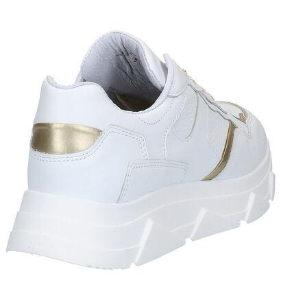 Tango Kady Fat Witte Sneakers in leer (277436)