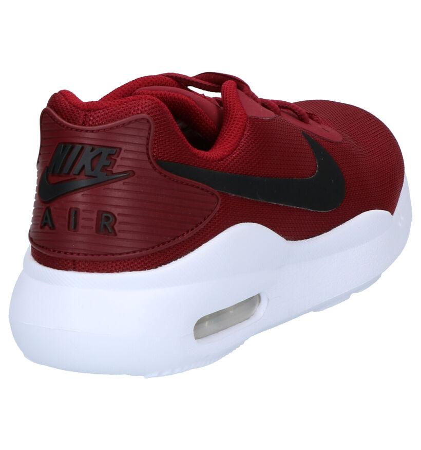 Nike Air Max Oketo Bordeaux Sneakers in stof (254040)