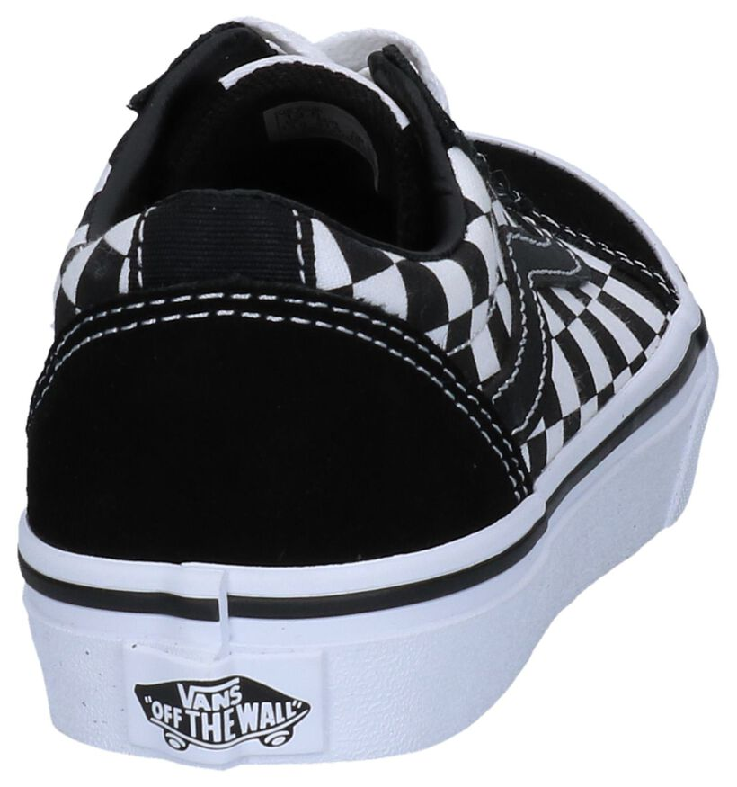 Vans Ward Zwarte Skateschoenen , , pdp