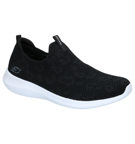 Skechers Memory Foam Baskets slip-on en Noir