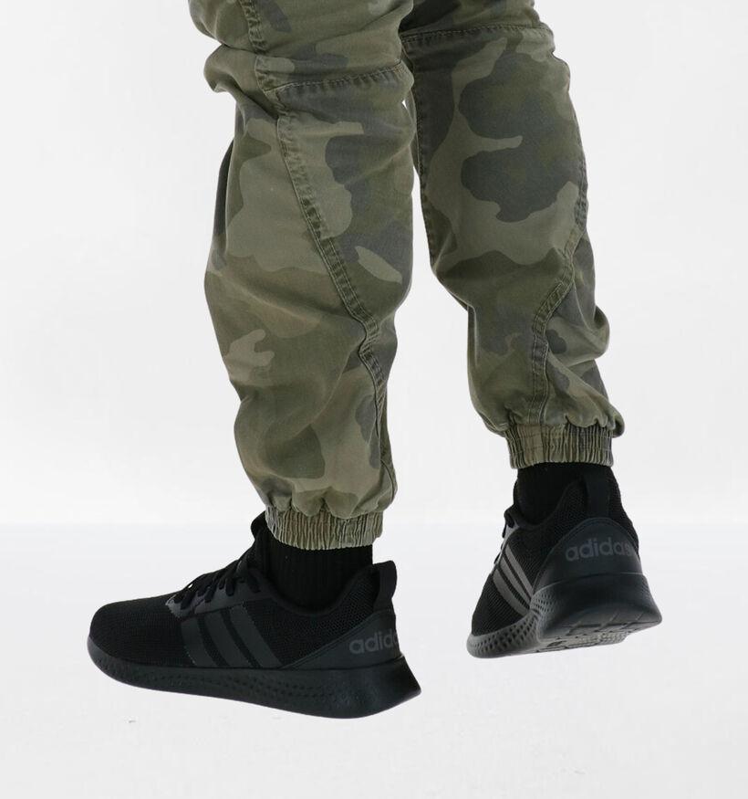 adidas Puremotion Men Zwarte Sneakers in kunstleer (276468)