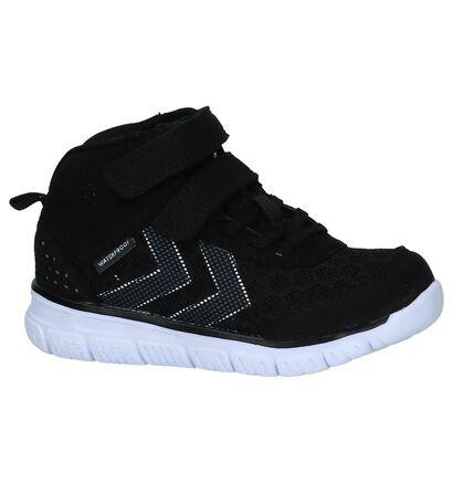 Hummel Crosslite Zwarte Hoge Sneakers, Zwart, pdp