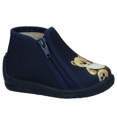Donkerblauwe Pantoffels Bellamy Olgir in stof (248490)