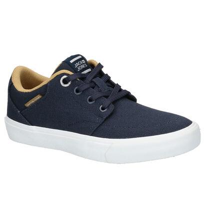 Jack & Jones Barton Blauwe Skateschoenen in stof (255230)