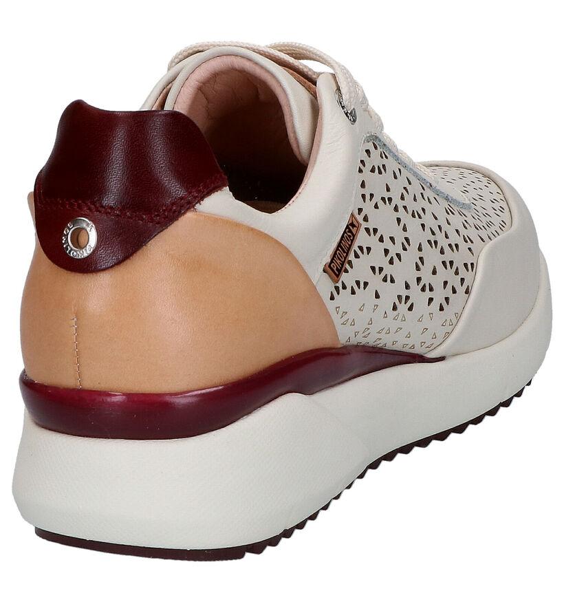 Pikolinos Chaussures à lacets en Beige clair en cuir (272657)