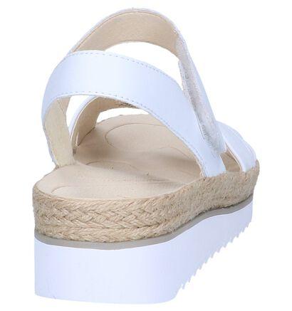 Gouden Sandalen Gabor Best Fitting, Wit, pdp