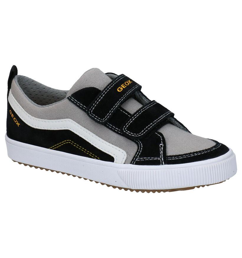 Geox Alonisso Chaussures à velcro en Noir en textile (287072)