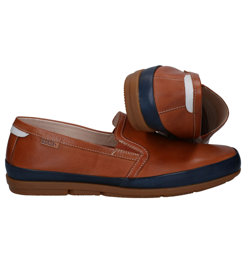 Pikolinos Altet Chaussures sans lacets en Bleu en cuir (289166)