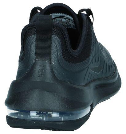 Zwarte Sneakers Nike Air Max Axis in imitatieleer (249830)