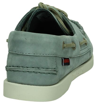 Donker Blauwe Bootschoenen Sebago Dockside, Blauw, pdp