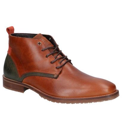 Bullboxer Cognac Boots in leer (260613)